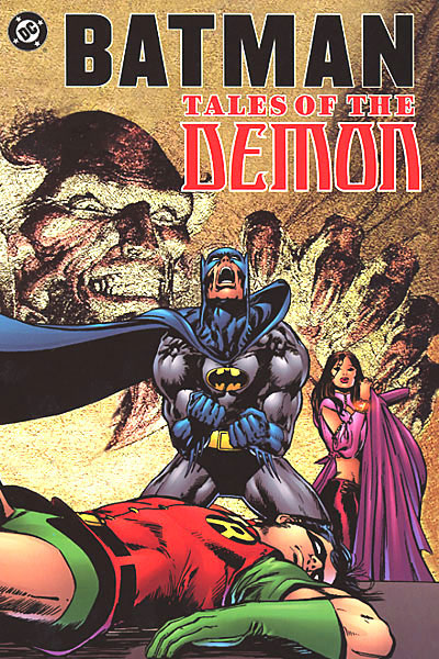 Batman Tales o/t Demon Cover