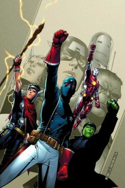 Young Avengers Vol 01 Cover