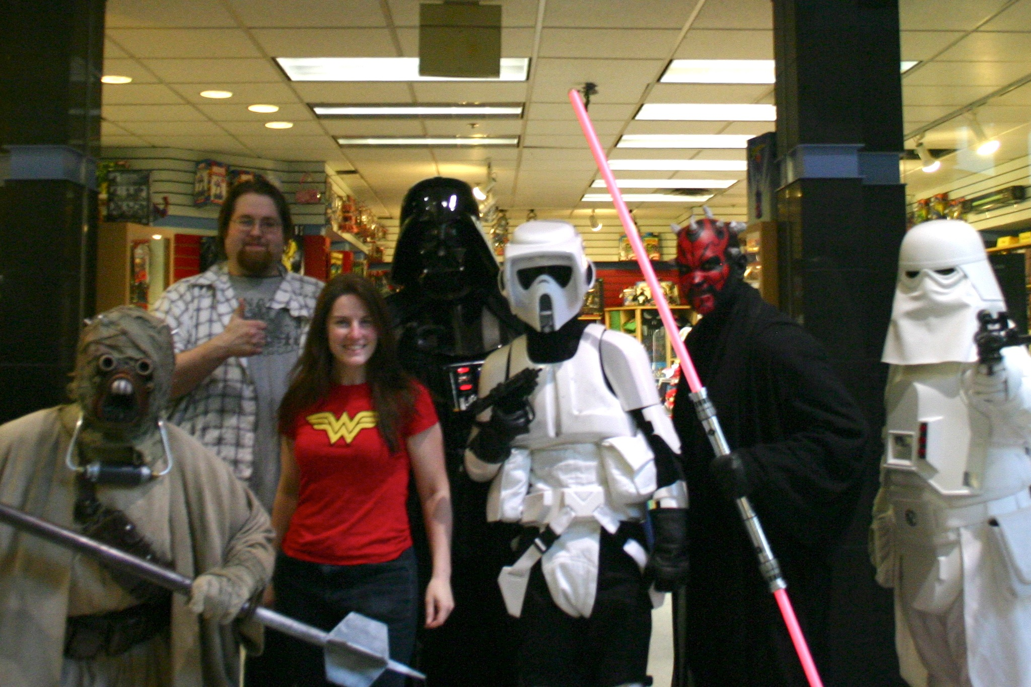 My Nerd Credentials: Freeic Book Day 2010, Back When I Was Store  Manager